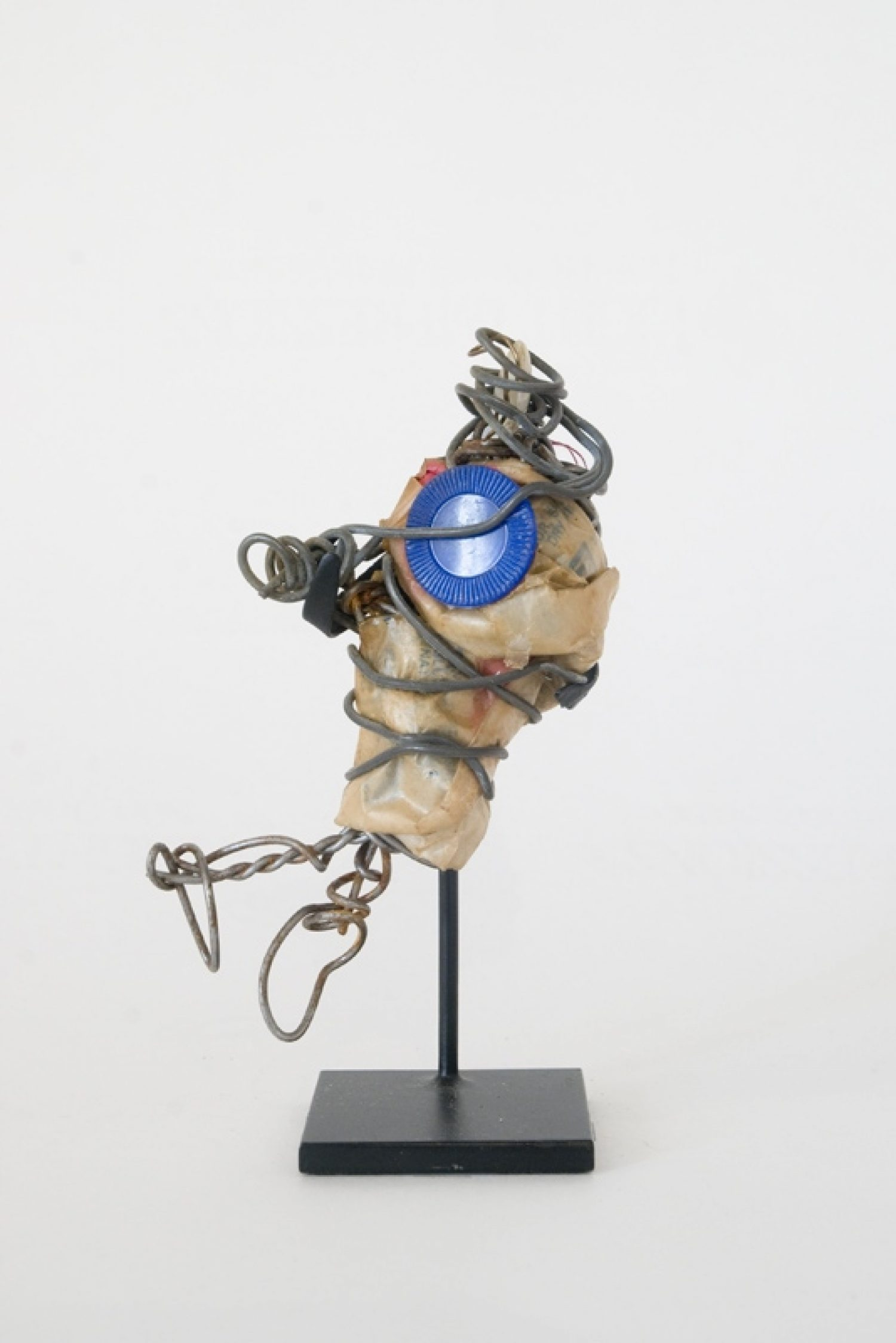 Philadelphia Wireman Untitled Blue Poker Chip C 1970–75